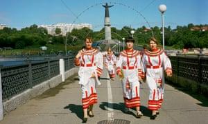 Celebrations in Cheboksary, Russia's pagan heartland.