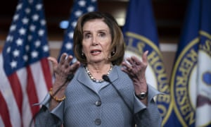 Nancy Pelosi said: 'Whoever the nominee is of our party, we'll wholeheartedly support.'