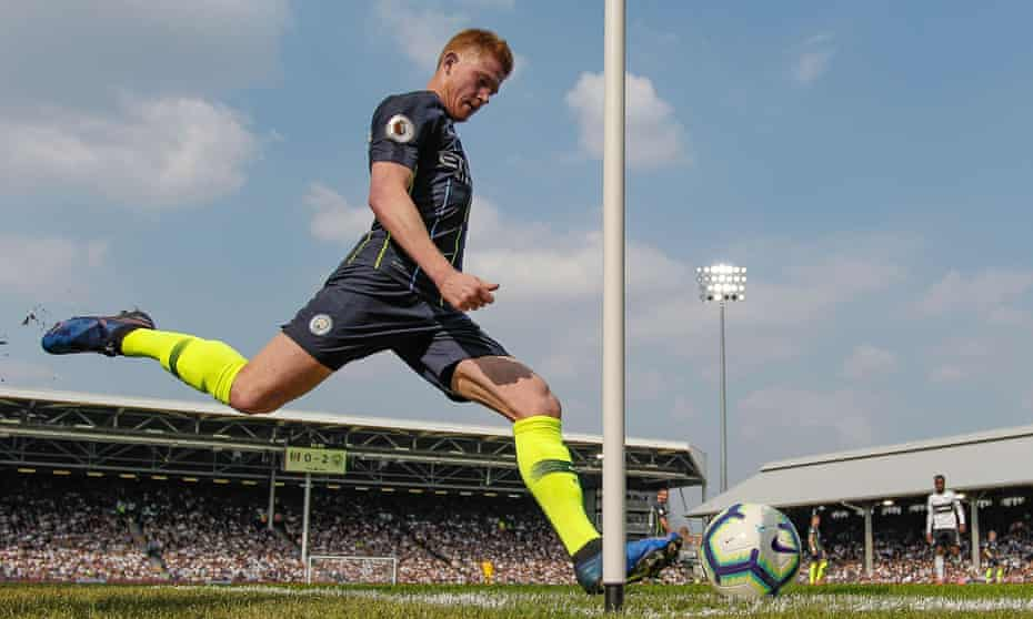 Kevin De Bruyne has returned to form recently, and will surely be central to City's chances of completing the quadruple.