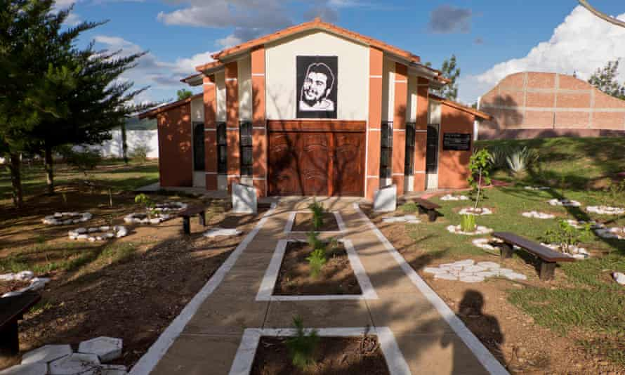 Che Guevara memorabilia in Vallegrande, Bolivia.