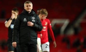 Whilst Manchester United manager Ole Gunnar Solskjaer ponders defeat.
