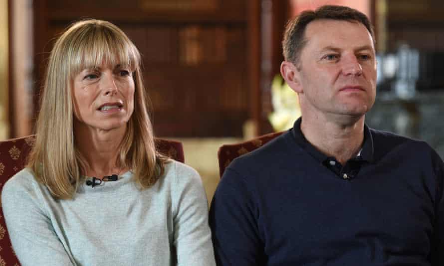The parents of Madeleine McCann