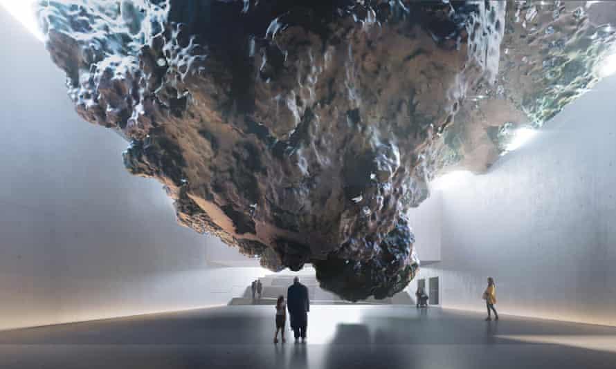 Powerful but problematic: Anish Kapoor's inhabitable meteorite