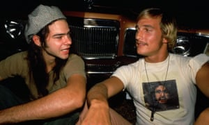 McConaughey in his 1993 debut film Dazed And Confused, with Rory Cochrane.