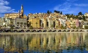 Menton on the French Riviera, where WB Yeats spend his last days in the Hôtel Idéal Séjour
