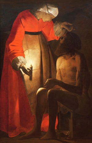 Job mocked by his wife by Georges de La Tour, c. 1650.