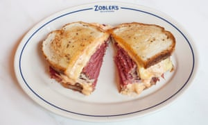 'Fat is key to salt beef, much as canals are key to Venice': the disappointing Reuben.