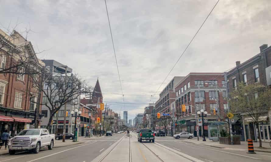 Downtown in Toronto, Canada.