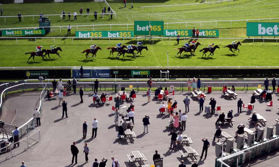 The crowds were back for the first day of the St Leger festival at Doncaster on Wednesday but will not be allowed for the rest of the meeting.