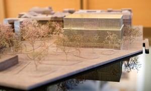 A model of the Nobel Centre
