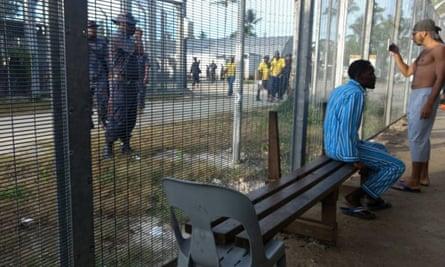 Manus Island immigration detention centre