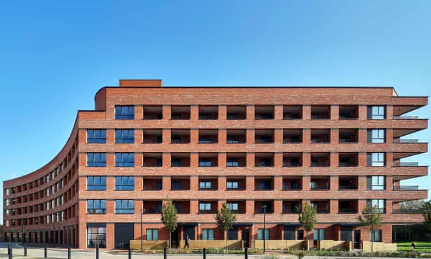 Newly built Peabody development the Reach, designed by Pitman Tozer Architects.