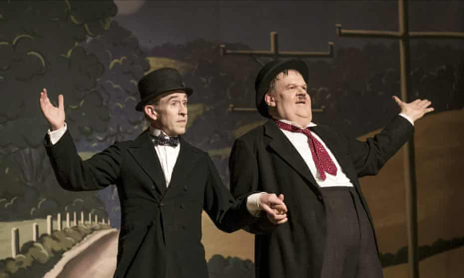 Steve Coogan and John C Reilly in Stan & Ollie