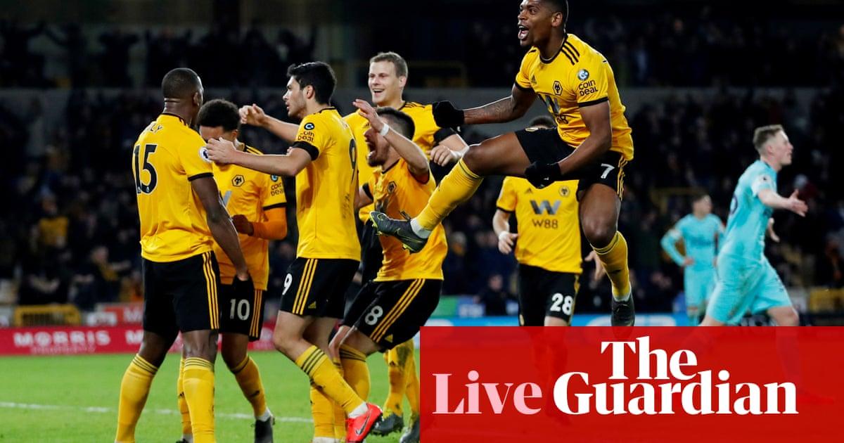 62a7c7414 Wolves 1-1 Newcastle United  Premier League – as it happened ...