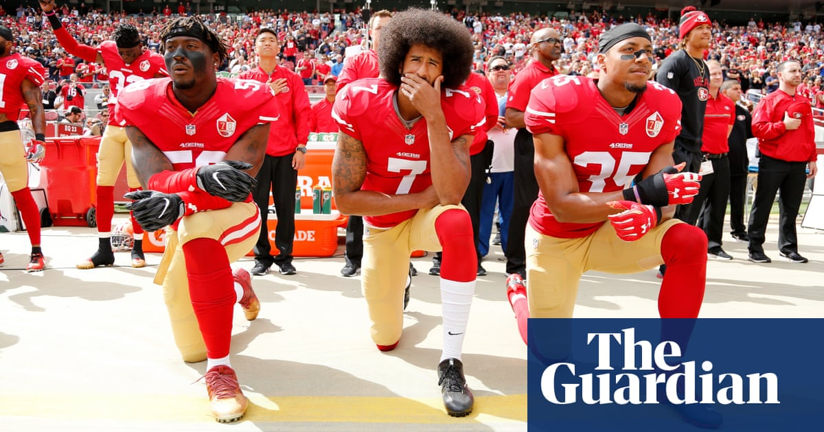 Donald Trump aims tweets at NFL over protests to reopen anthem debate