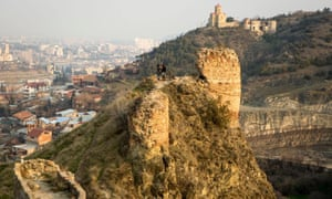 Tbilisi's Narikala Castle.
