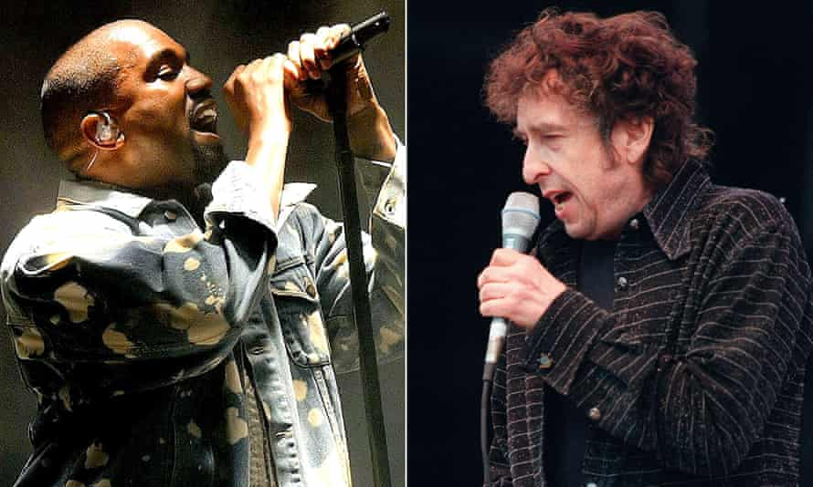 Kanye West and Bob Dylan