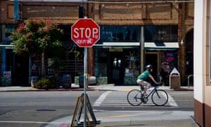 Shops in Oakland's Temescal neighbourhood