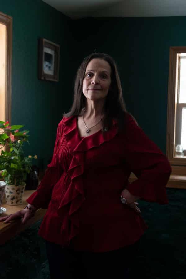 Terri Burl at home on 2 January 2019 in Crandon, Wisconsin.