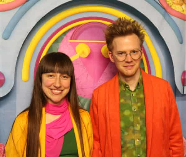 Lara Lesmes and Fredrik Hellberg of Space Popular.