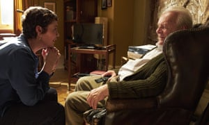Devastating ... Olivia Colman and Anthony Hopkins in The Father.