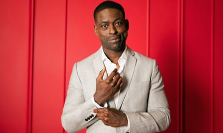 Currently enjoying a hot streak … Sterling K Brown.