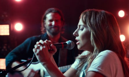 Bradley Cooper as Jack and Lady Gaga as Ally A Star Is Born