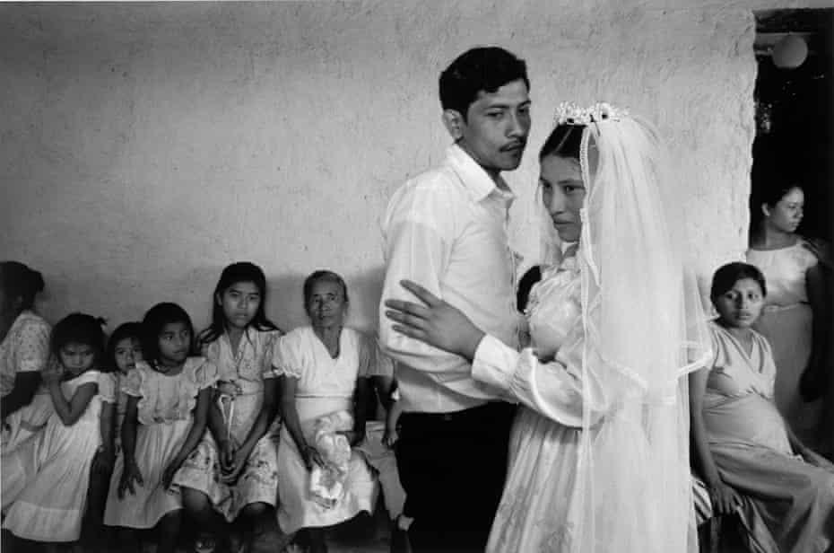 A wedding reception in the countryside of El Salvador
