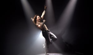 High note … Cruise in Rock of Ages.