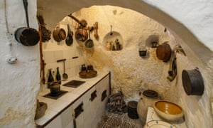 The Casa Grotta cave house museum, Matera.