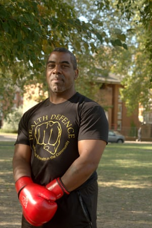 Max Wallace, a former professional boxer with an interest in art, wants to set up his own wellbeing centre.