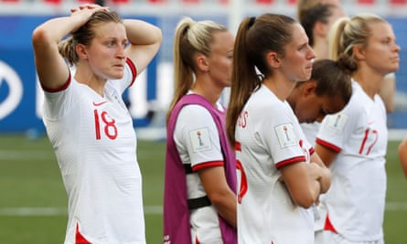 England lost in the third place play-off in France.