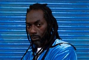 Reggae's elder statesman … Buju Banton.