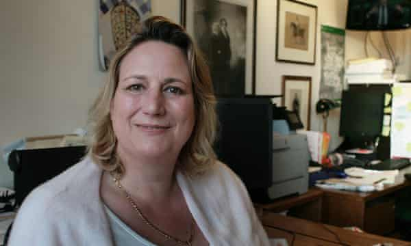 Antoinette Sandbach MP in her office at Westminster.
