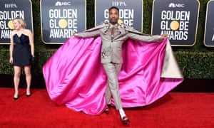 Billy Porter at the Golden Globes this year.