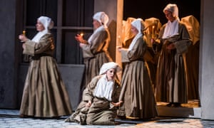 'Candour and tenderness': Anne Sophie Duprels in the title role of Opera North's Suor Angelica.