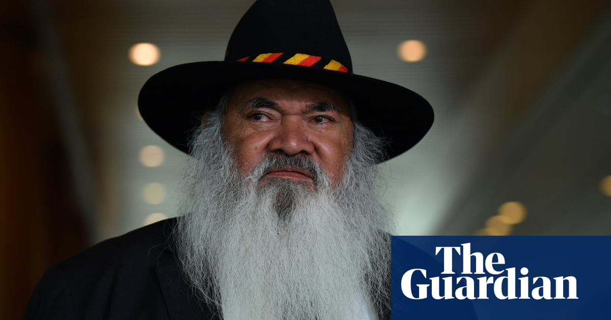 Pat Dodson slams Morrison government for rejecting key element of Uluru Statement from the Heart
