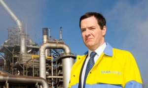 Chancellor George Osborne visits Tata Steel plant in Port Talbot, Wales, in 2014