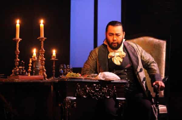 Samuel Youn as Scarpia in Tosca.