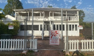 Sold sign on a property at Mission Beach, Queensland