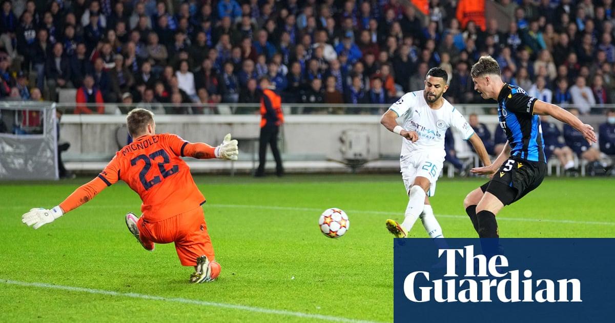 Riyad Mahrez and Phil Foden shine as Manchester City thrash Club Brugge