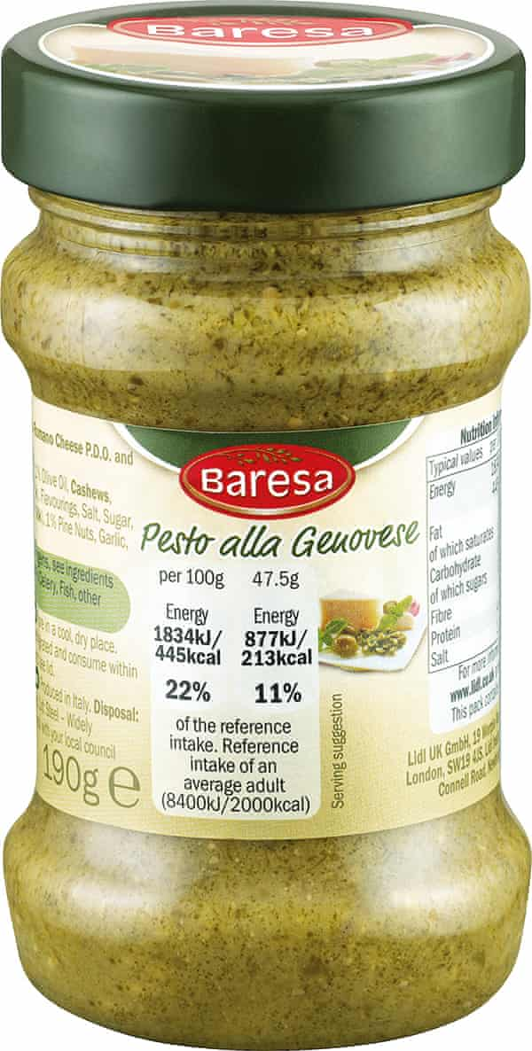 Herb Wars Which Supermarket Wins The Pesto Taste Test Food The Guardian