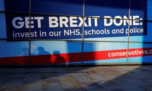 Conservative Party annual conference in ManchesterA Brexit slogan is displayed at the venue of the Conservative Party annual conference in Manchester, Britain, October 2, 2019. REUTERS/Phil Noble