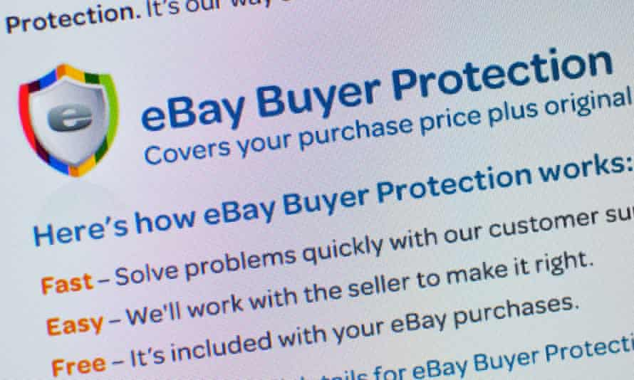 Ebay's buyer protection … but what about a seller who has been scammed?