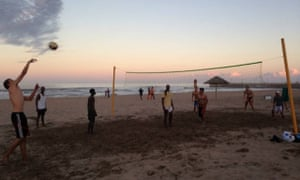 Beach volleyball Durban