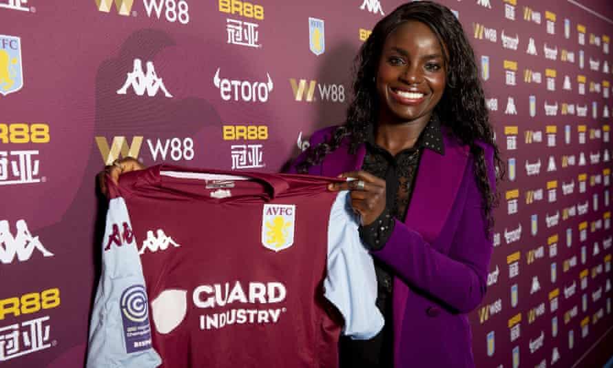 Aston Villa sporting director Eni Aluko will lead the club into the top flight next season.