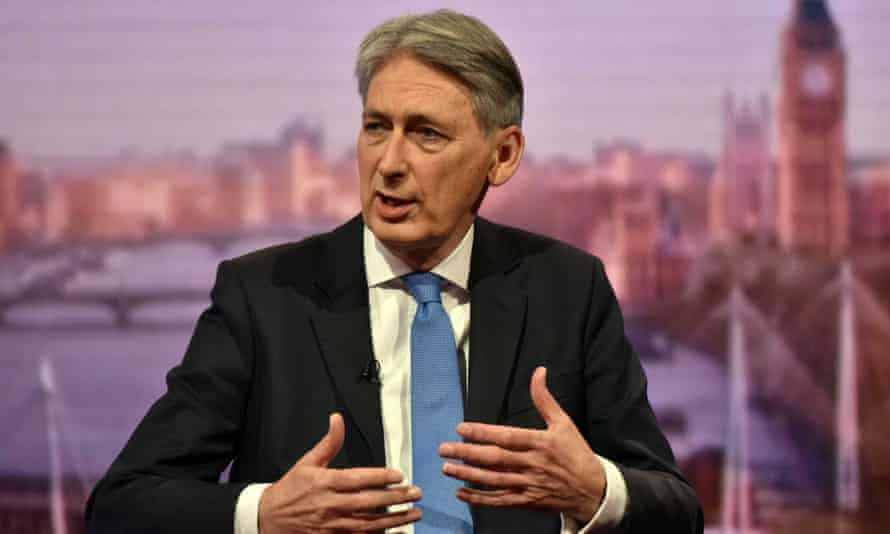 The chancellor, Philip Hammond, on the BBC's Andrew Marr Show.