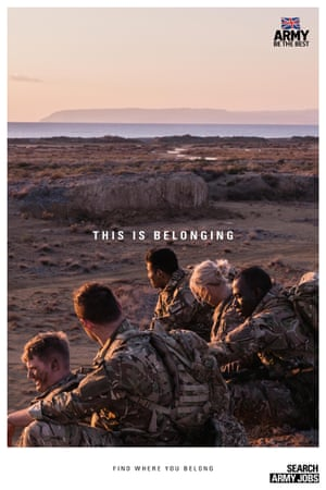 This is Belonging advert from British Army.