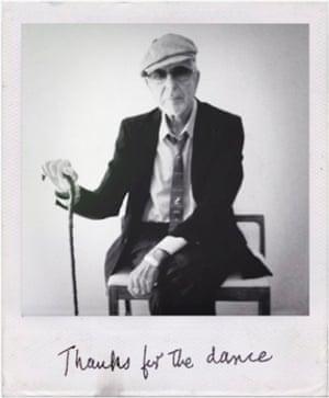 Folheto de Leonard Cohen 2019