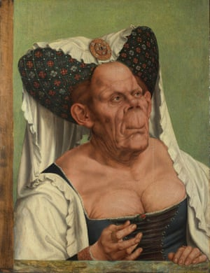 An Old Woman ('The Ugly Duchess'), about 1513, Quinten Massys